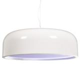 lampadario bianco a soffitto