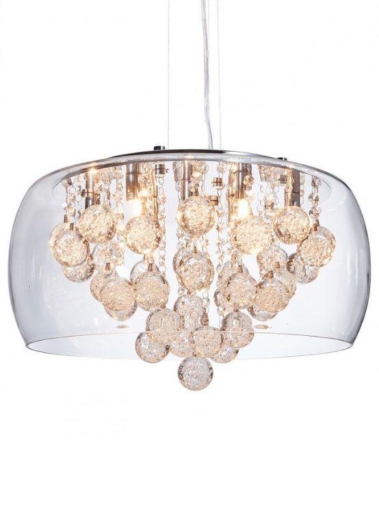 lampadario cristalli moderni