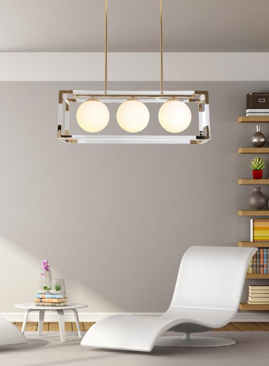 lampadario sospensione rettangolare soggiorno