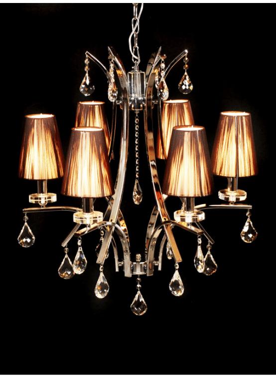 lampadario stile veneziano moderno 6 luci