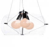 lampadario trasparente stile moderno GLOB