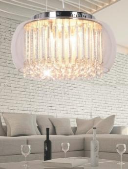 lampadario vetro e cristallo