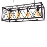 lampadario vintage rustico per taverne e ristoranti