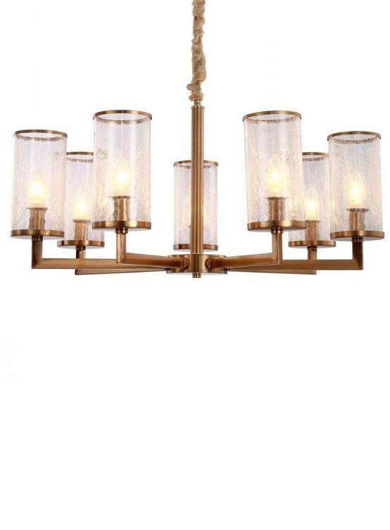 lampade classiche a sospensione ottone e vetro