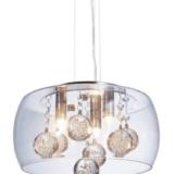 lampade moderne in vetro e cristallo led FABINA