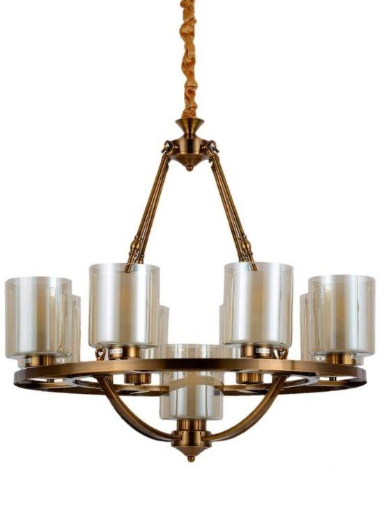 lampadario soffitto ottone