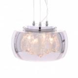 lampade a sospensione moderne in cristallo e vetro