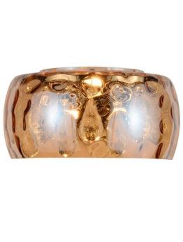 applique di lusso vetro ambrato