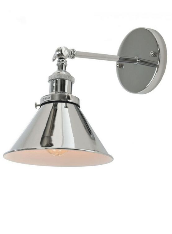 applique moderne in metallo lucido GUBI