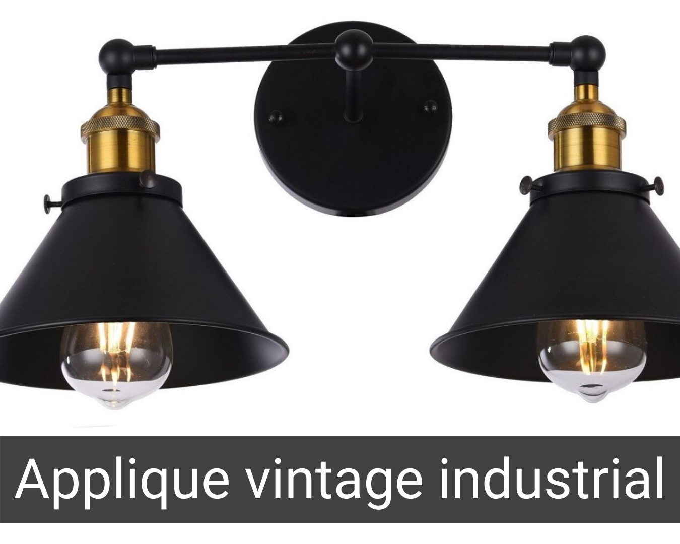applique stile industriale