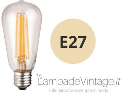 lampadina vintage e27
