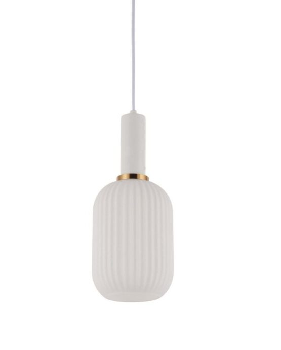 lampada da soffitto moderna bianca 1 luce