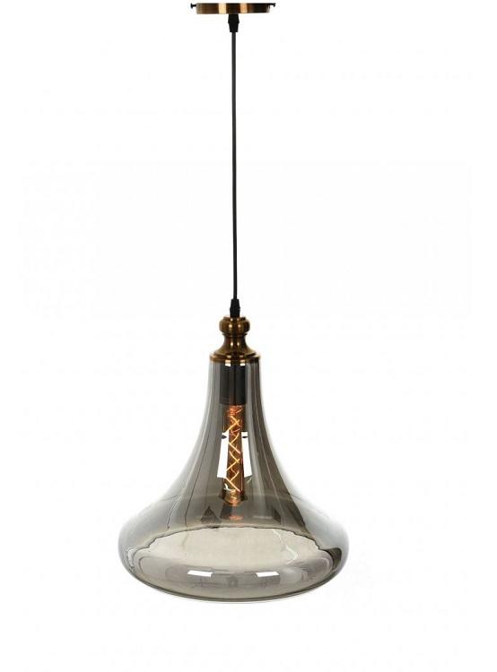 lampada a sospensione vintage industriale forma di campagna ottone