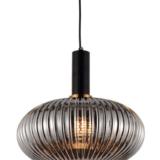 lampada di design con paralume vetro
