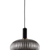 lampada design a soffitto paralume vetro sferico