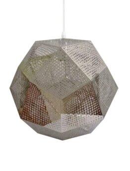 lampada sospensione metallo forato tom dixon