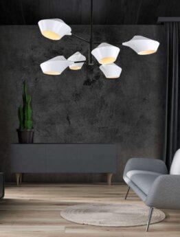 lampada vintage sospensione salotto