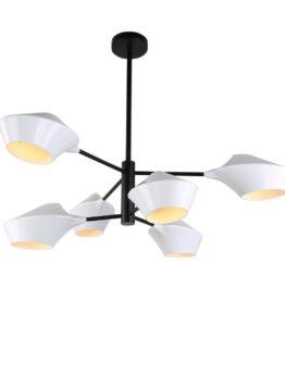 lampada vintage sospensione bianca