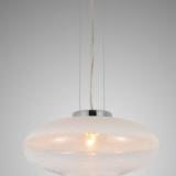 lampada soffitto paralume bianco ovale