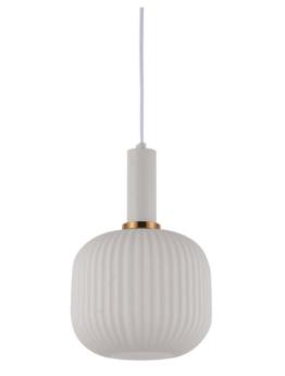 lampada sospensione moderna colore bianco