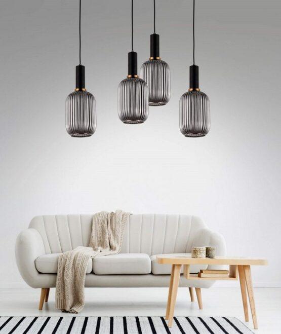 idee arredo divano lampada