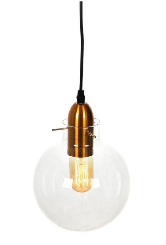 Lampada da soffitto industrial vetro