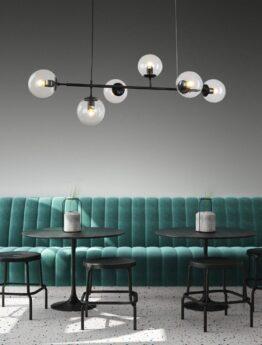 lampada design industriale a sospensione