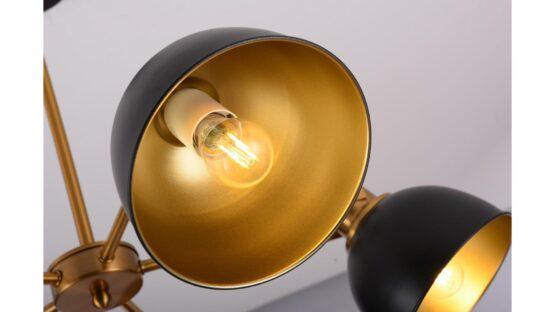 lampada sospensione paralume orientabile