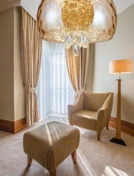 Lampadari in cristallo soggiorno