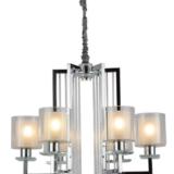 lampadari cromati da soffitto