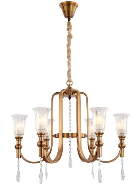 lampadari ottone cristallo salotto