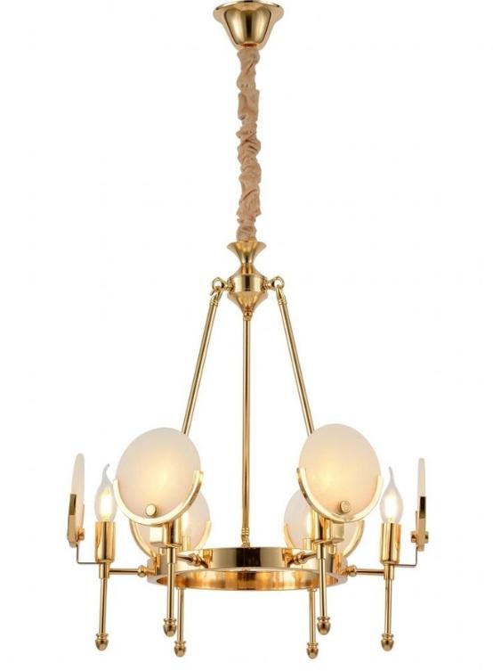 lampadario oro per salotto molto luminoso