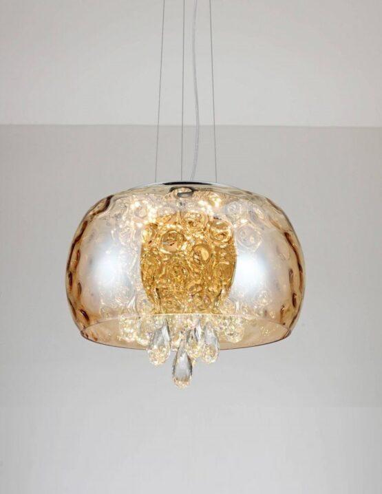lampade sospensione cristallo