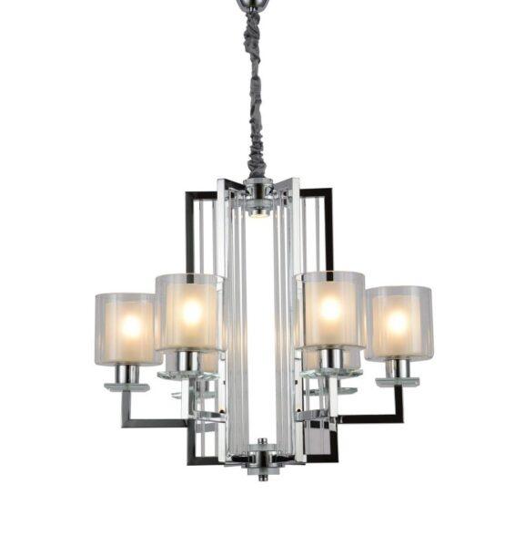 lampadari a soffitto color cromo