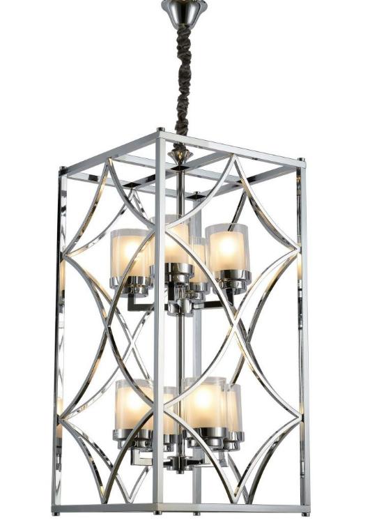lampadario gabbia