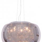 lampadario moderno in vetro