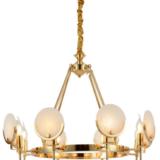 lampadario colore oro