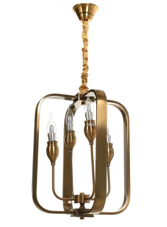 Lampadario ottone moderno