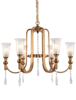 lampadari cristallo 6 luci da soffitto
