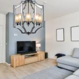 lampadario salone moderno