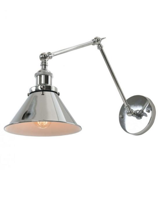 lampade braccio regolabile orientabile a parete
