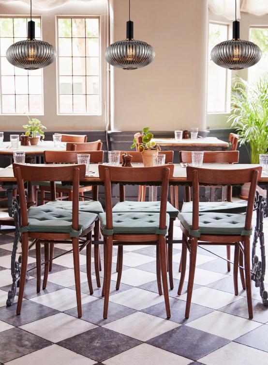 lampade design ristoranti paralume vetro