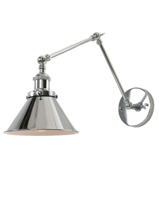 lampade a parete orientabile con braccio stile moderno