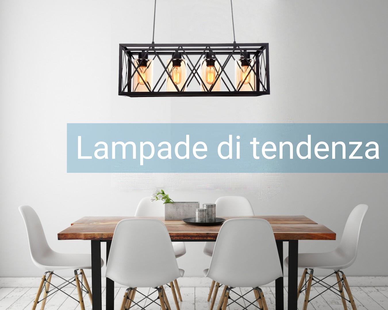 lampade soggiorno moderne