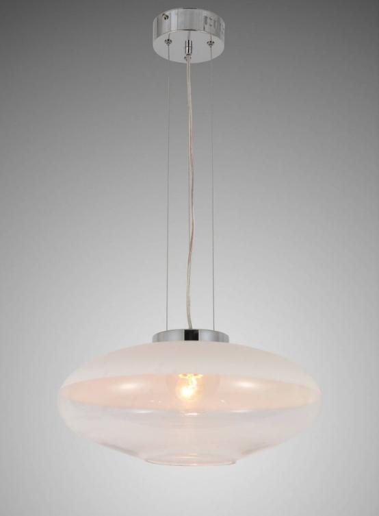 lampade sospensione forma ovale colore bianche