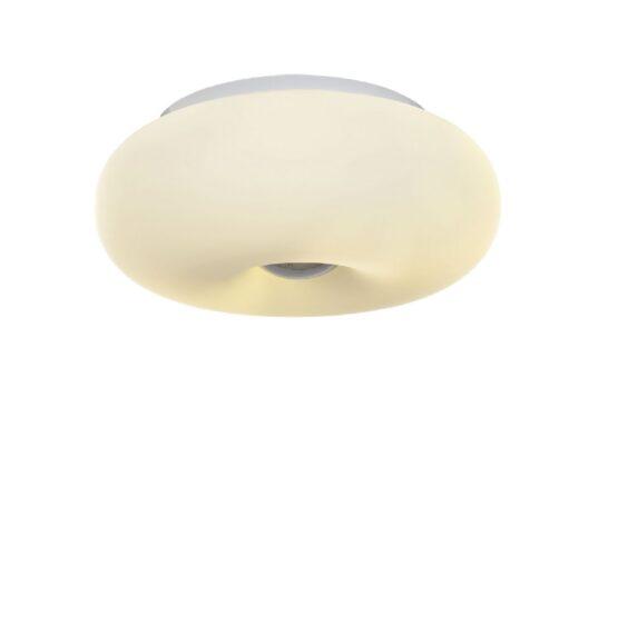 plafoniera bianca da soffitto