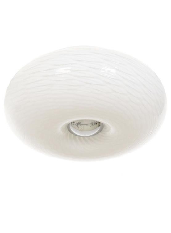 Plafoniera soffitto design bianca
