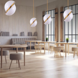 lampadari moderni per negozi
