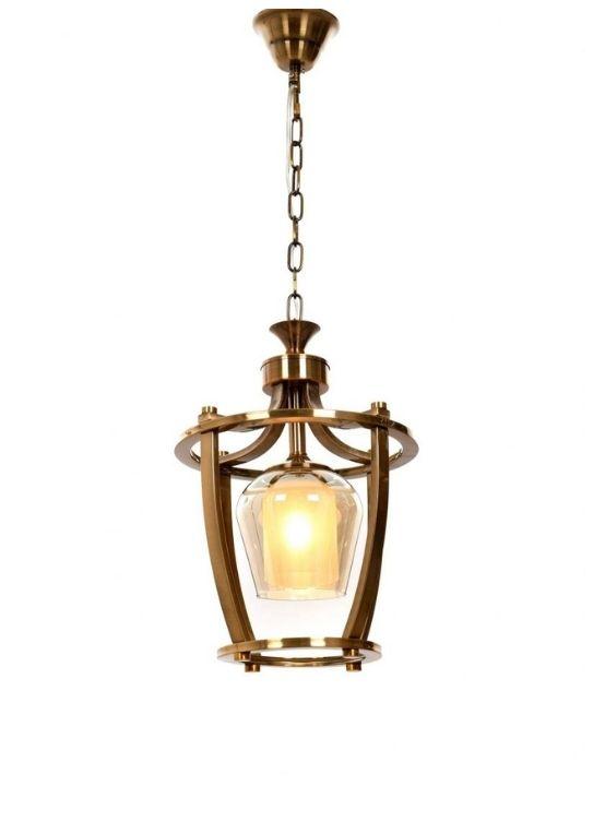 Lampada salotto soffitto ottone moderna