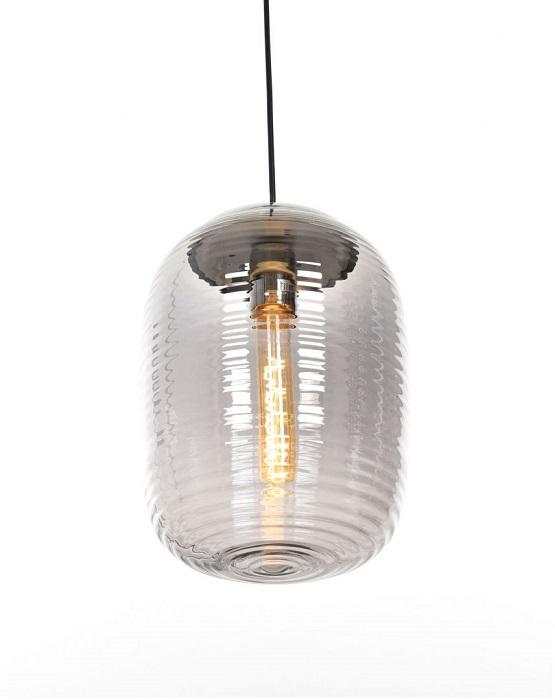 lampada sospesa in vetro